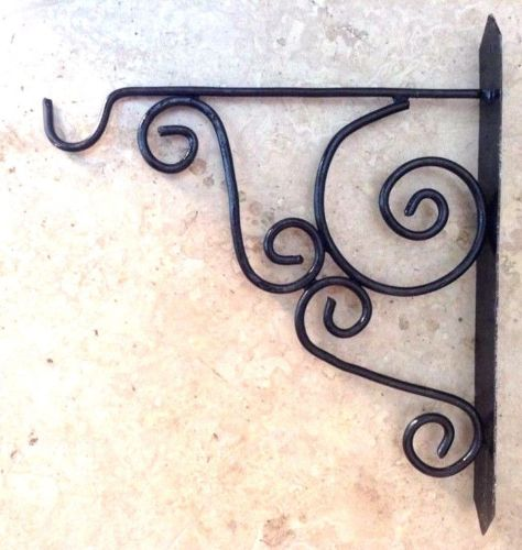 Moroccan Lantern Wrought Iron Wall Hooks Hanger Lights Hook bracket