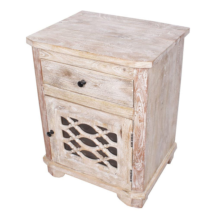 Solid Mango Wood Nightstand Moroccan End Table Cabinet Moroccan Furniture Bazaar These mango wooden table manufacturing companies are offering best quality product at low price. solid mango wood nightstand end table cabinet