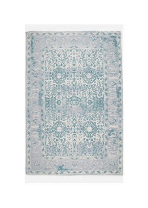 Rug Antique Printed Blue