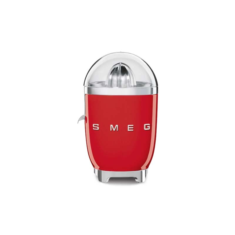 SMEG 50S RETRO STYLE FIERY RED CITRUS JUICER