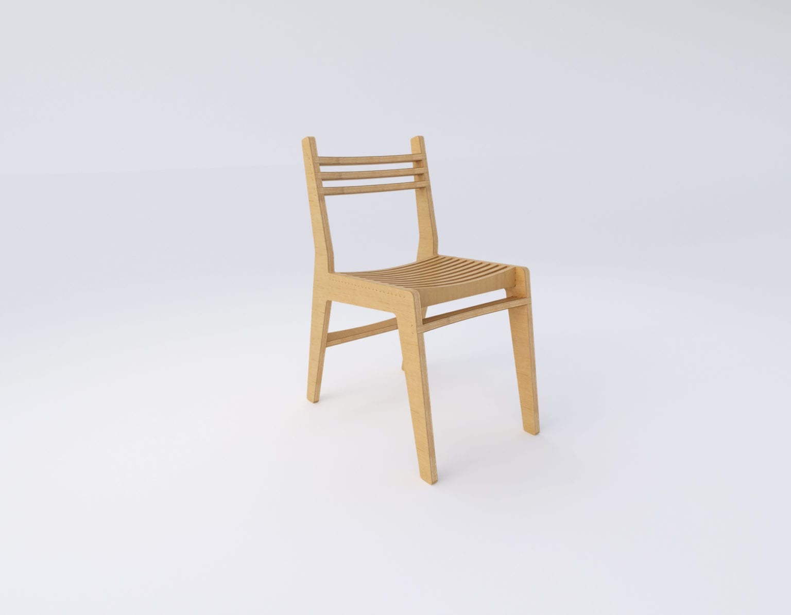 Simple Chair – Natural