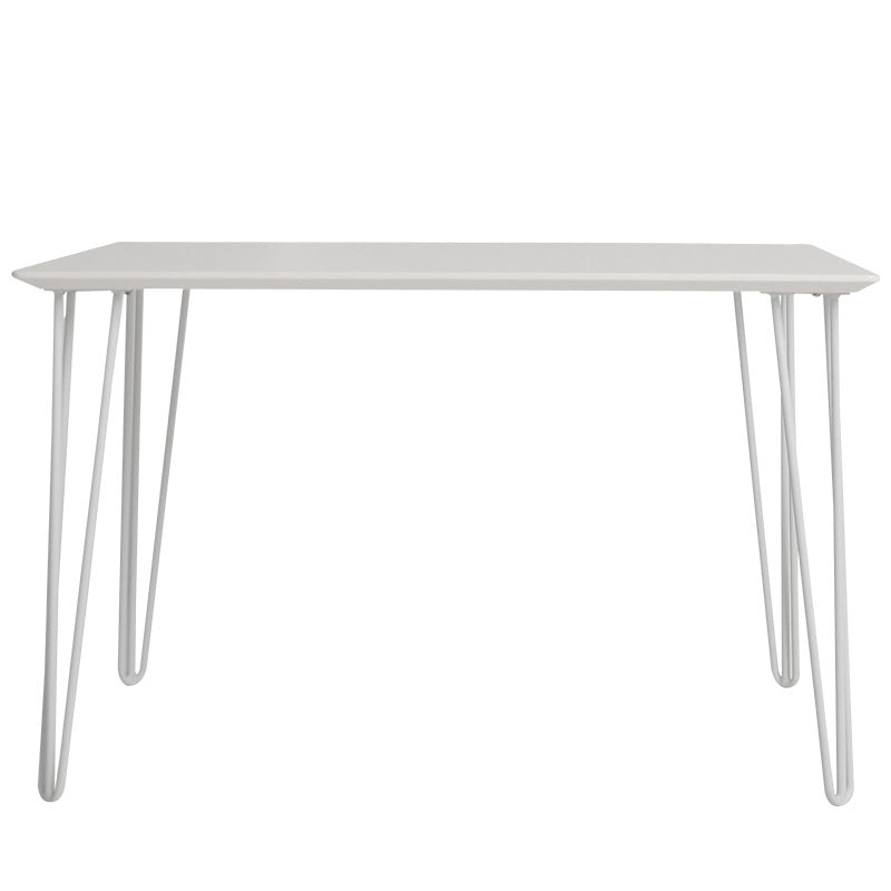 Allegra Dining Table 140x80 Grey/Gold