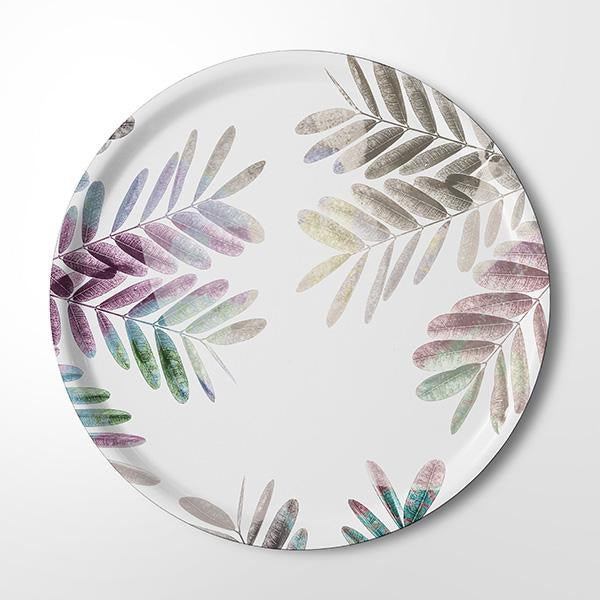 Serving Tray - Flushing Leaves (colour light)