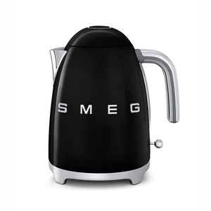 SMEG 50'S RETRO STYLE BLACK ELECTRIC KETTLE (1.7L)