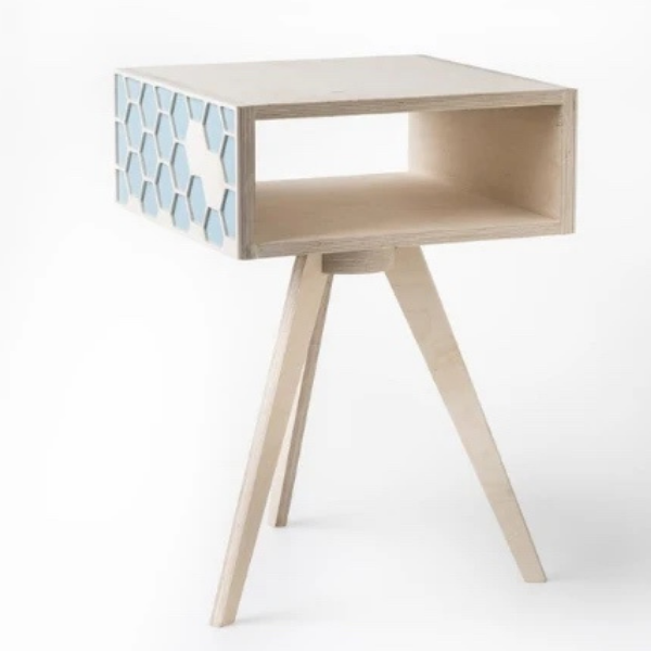 Hexa Bedside Table