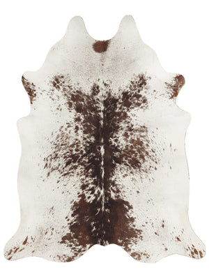 Kind Hide Rug Brown & White