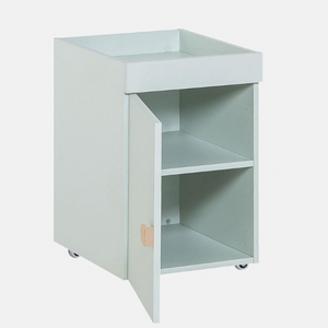 STIGE - CABINET FOR DESK - PISTACHIO