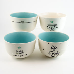 Breakfast Bowl Set of 4 – Candy Love