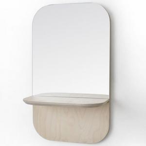 Birch Vertical Shelfie Mirror