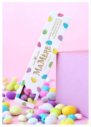 LUXURY CHOCOLATE SPECKLED EGG NOUGAT 125g