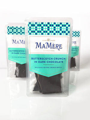BUTTERSCOTCH CRUNCH IN DARK CHOCOLATE
