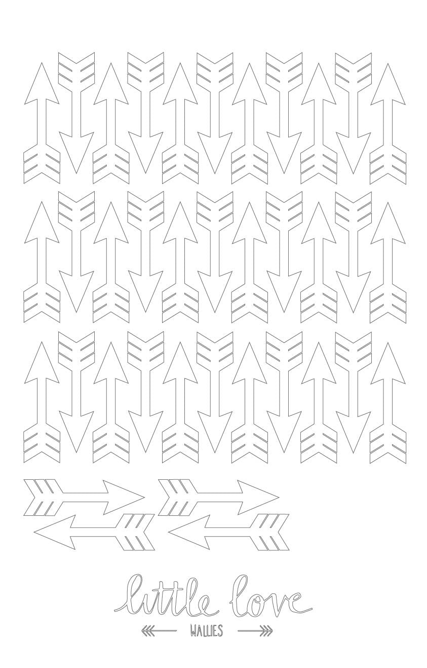 Little Love Wall Decals – Arrows