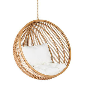 Round structures hanging chair