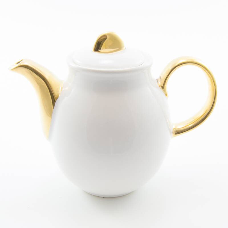 Tea Pot (2 Cup) Gold