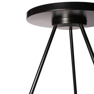 Black Allurement Side Table