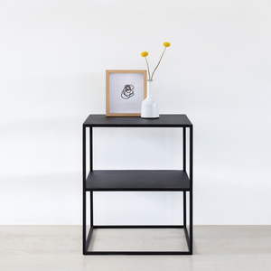 THE TEAGAN STEEL SIDE TABLE