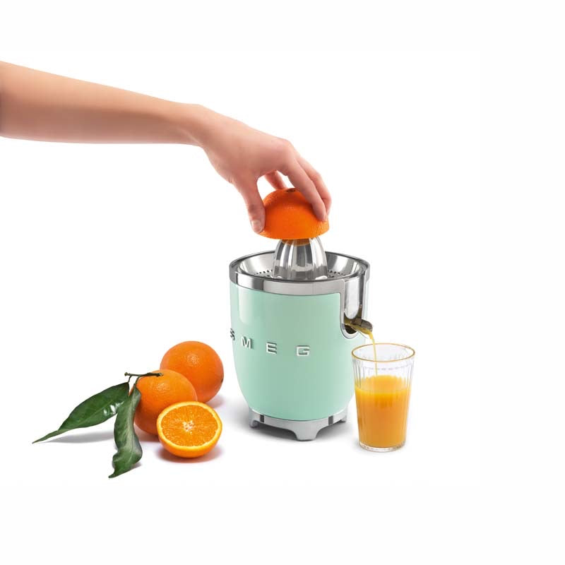 SMEG 50S RETRO STYLE MINT CITRUS JUICER
