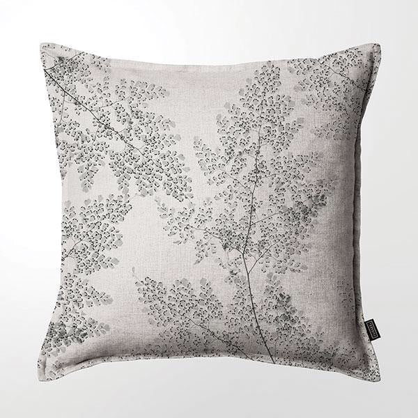Scatter Cushion (Double sided print ) - Silver Fern