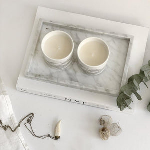 Grey Minerals Soya Candle Set X 2