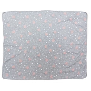 Stretch Cotton Blanket – Pink Swan