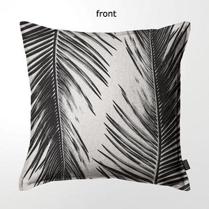 Scatter Cushion (DBL sided print ) - Cycad Frond