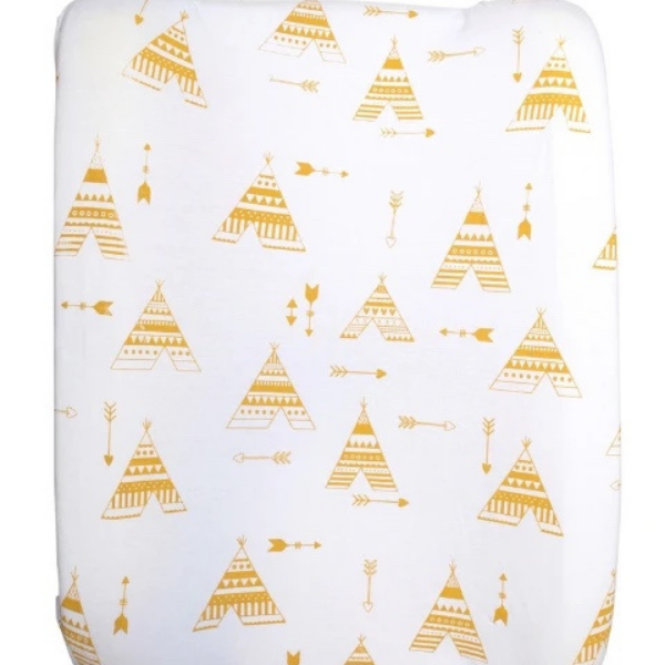 Change Mat Cover – Mustard Teepee