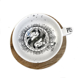 PISCES CUP & SAUCER