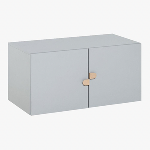 STIGE 2 DOOR LOW CABINET - GREY