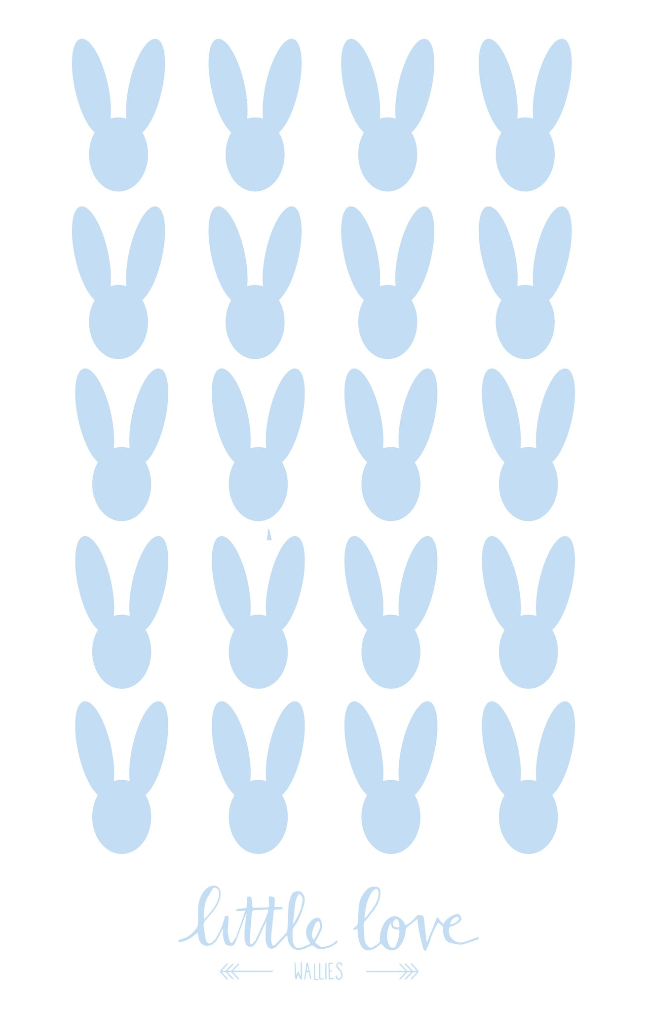 Little Love Wall Decals – Bunnies