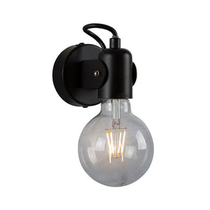 Tirana Wall Light Black