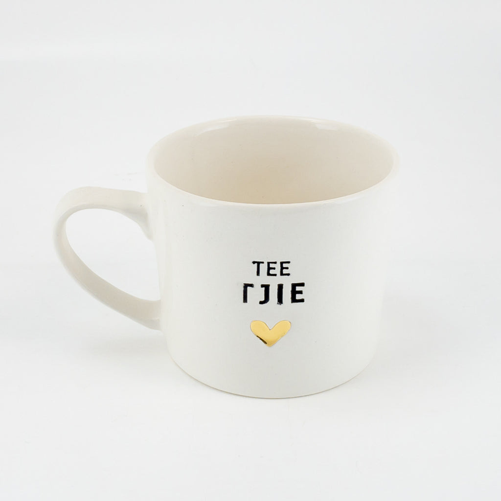 Mug A Teetjie set of 4