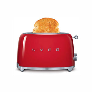SMEG 50'S RETRO STYLE FIERY RED 2-SLICE TOASTER