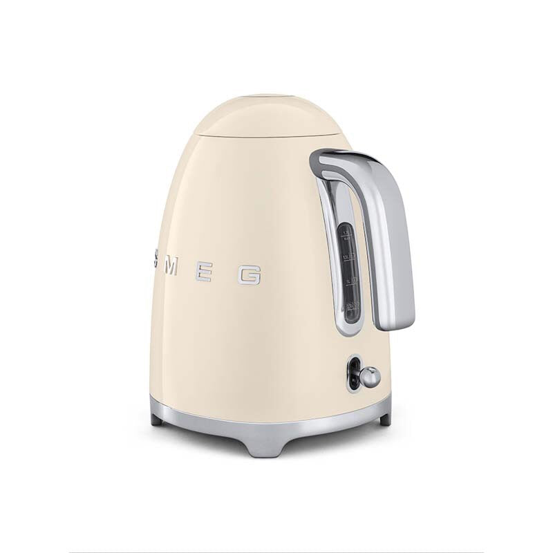 SMEG 50'S RETRO STYLE VINTAGE CREAM ELECTRIC KETTLE (1.7L)