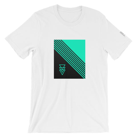 MintCF Striped Logo Unisex T-Shirt