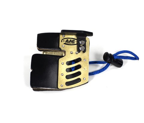 AAE Arizona Elite Cordovan Brass Fingertab, Fingertab - est-bogensport.de