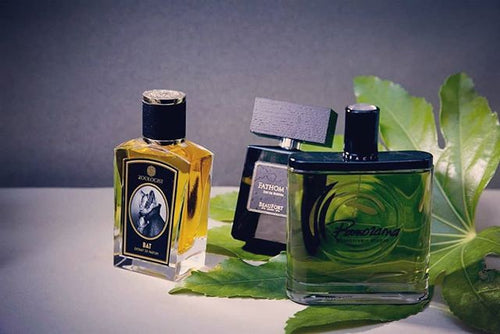 The green theme: perfumes with notes of leaves