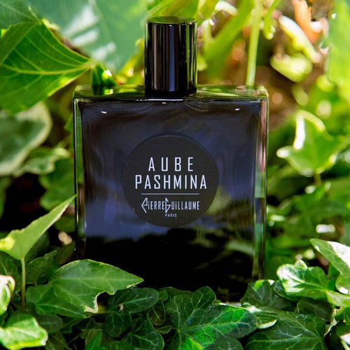 Green cooling shadows: Aube Pashmina by Pierre Guillaume