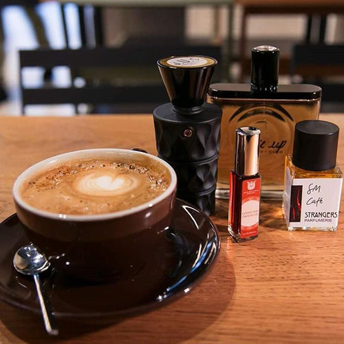 A relaxed read: Bloom's new coffee in perfume edit