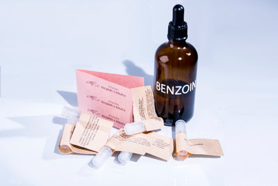 Benzoin Pack - Bloom Sample Packs - Bloom Perfumery