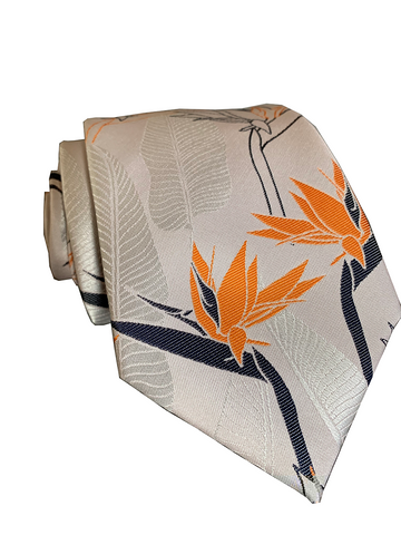 Ohia Denim/Yellow Modern Necktie