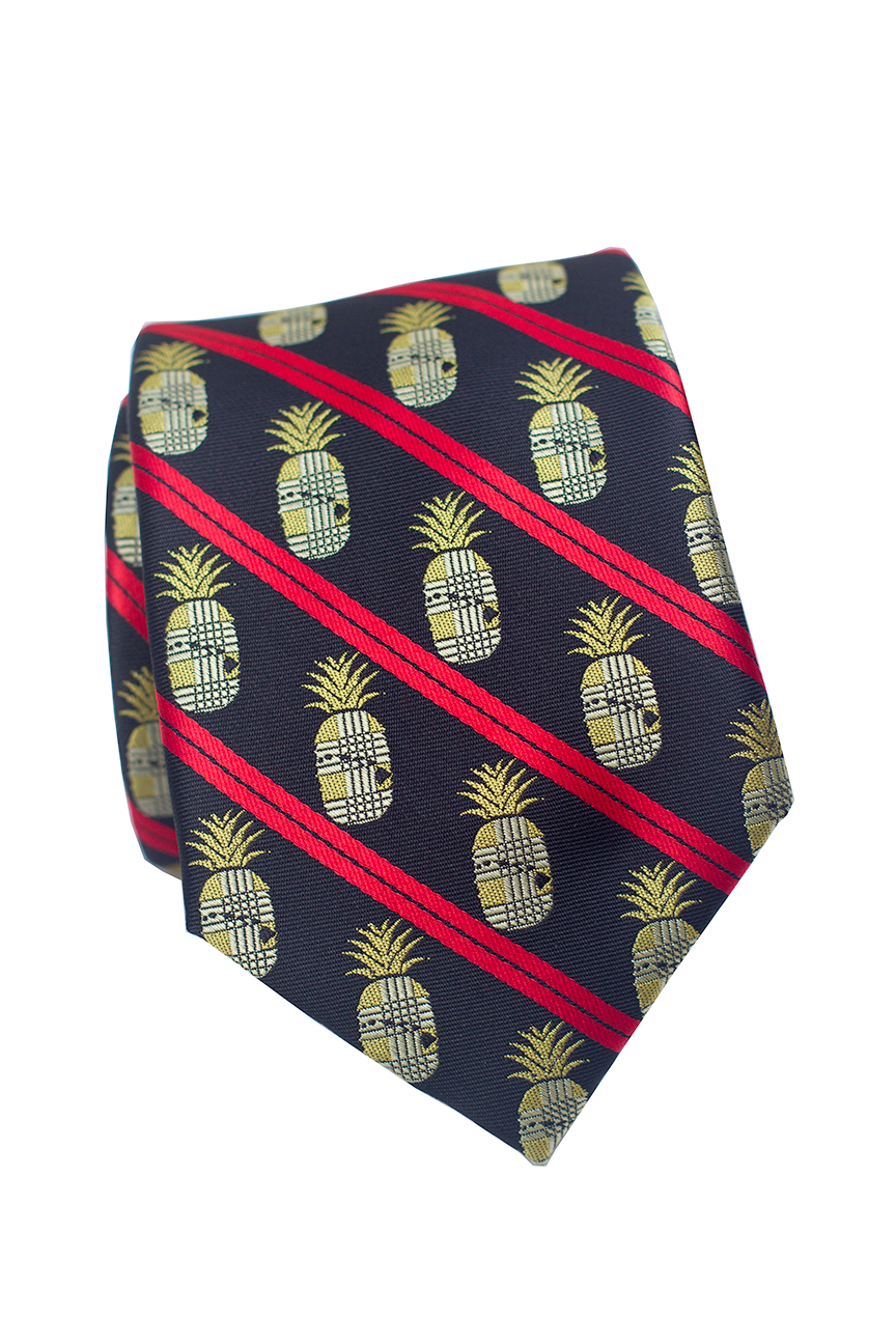 Hawaiian Pineapple Modern Necktie
