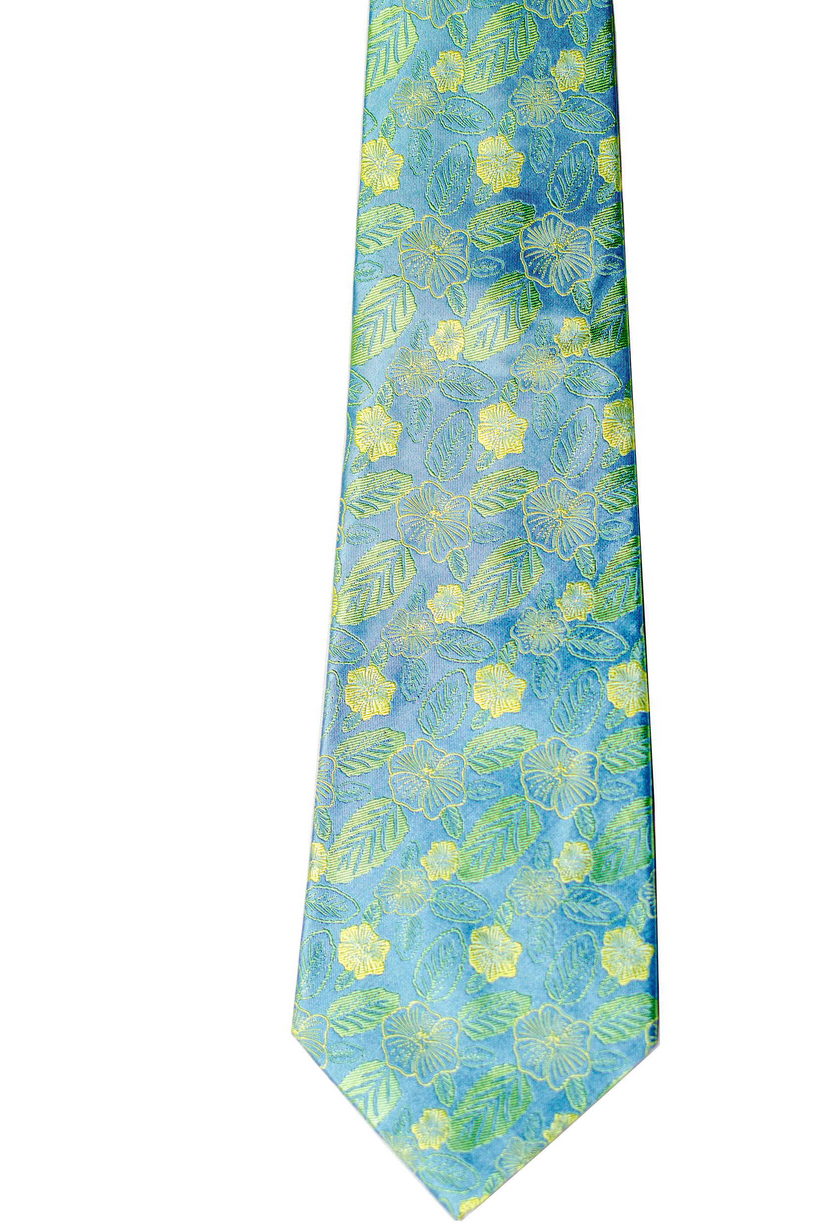 Ilima Green Executive Silk Necktie