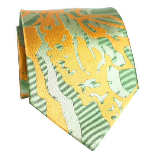 Maile Ilima Executive Silk Necktie