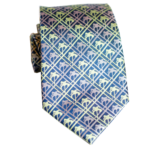 Palm Tree Modern Silk Necktie