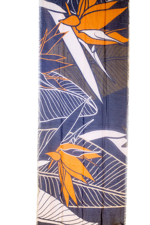 Bird of Paradise Dark Women's Scarf