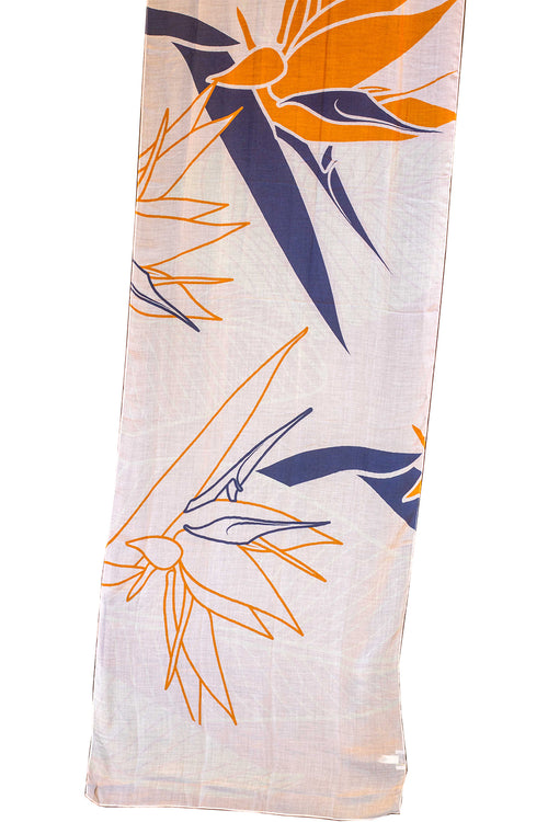 Bird of Paradise Light Women's Scarf