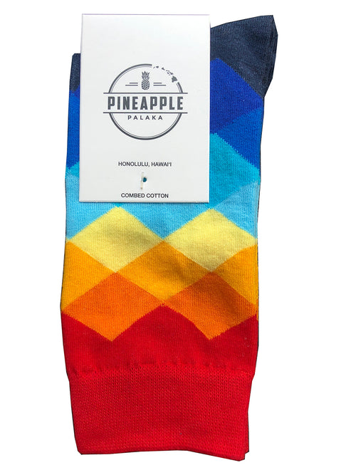 Sunset Socks
