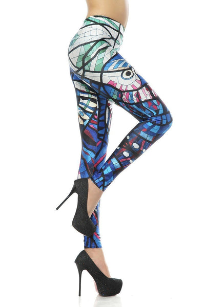 Aztec Owl Leggings