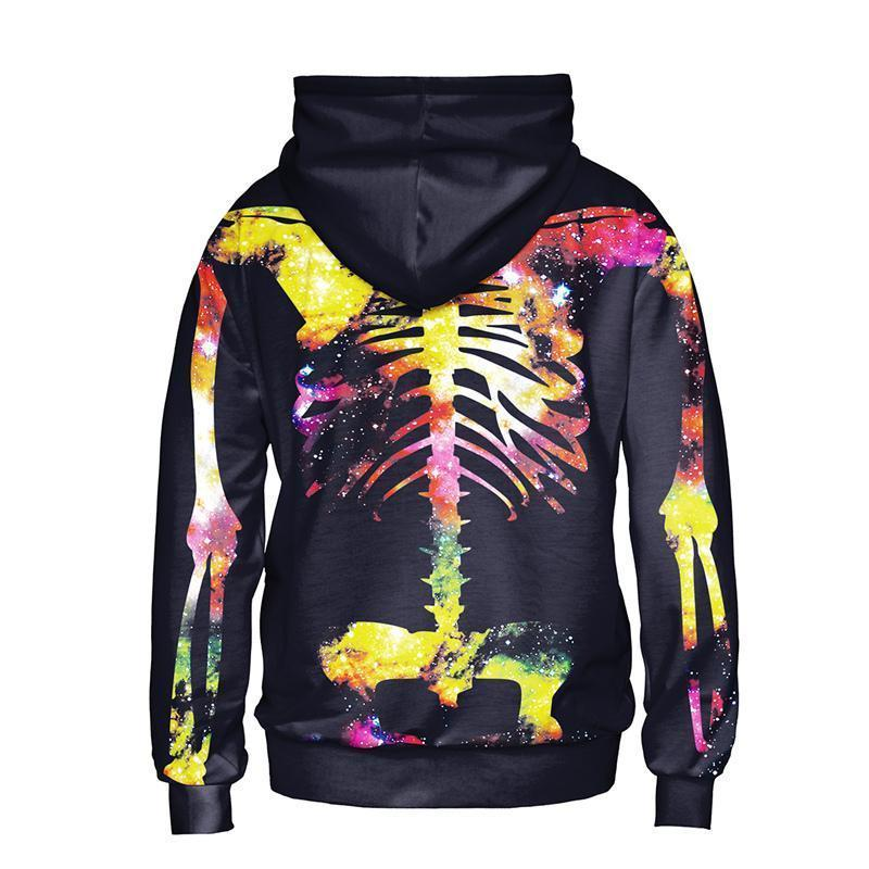 Colorful Skeleton Hoodie