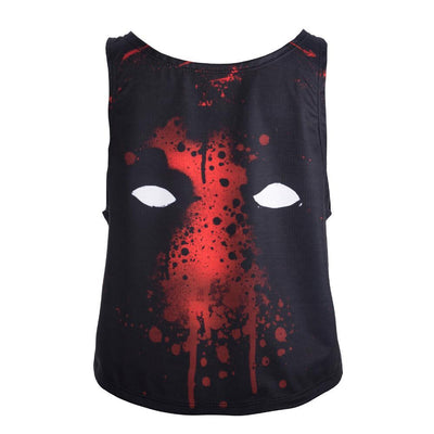 Deadpool Printed Crop Top